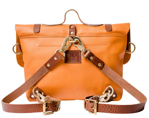 Orange RUCKSACK, BRIEFCASE & SHOULDER BAG