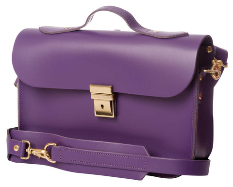 Plum Purple RUCKSACK, BRIEFCASE & SATCHEL BAG