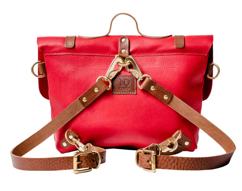 Red RUCKSACK, BRIEFCASE & SHOULDER BAG