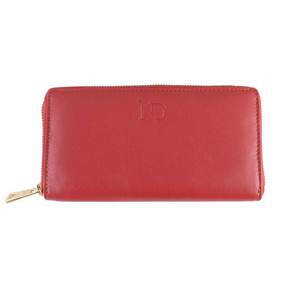 Gwenevere Red Zip Purse