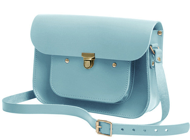 Sky Blue Mini Pocket Satchel