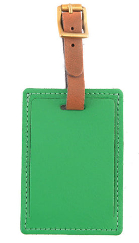 Luggage Tag Emerald