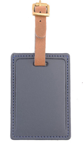 Luggage Tag Navy Blue