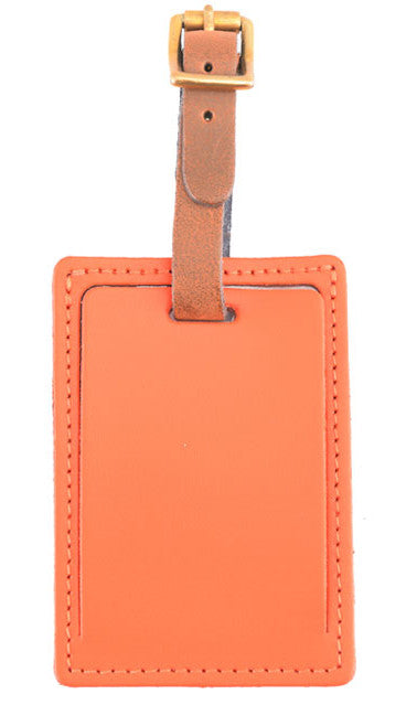 luggage tag Travel Tag Labels Card Orange
