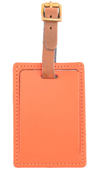 Luggage Tag Orange