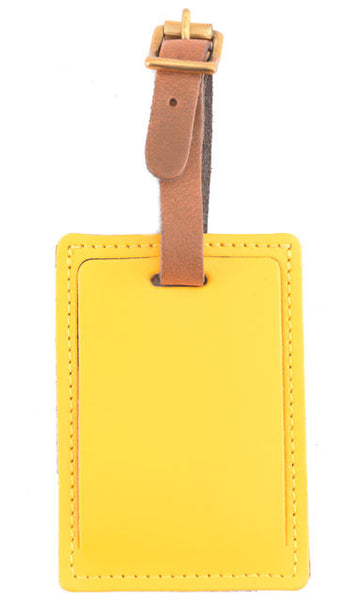 luggage tag Pvc Silicone Travel Tag Labels Card Yellow