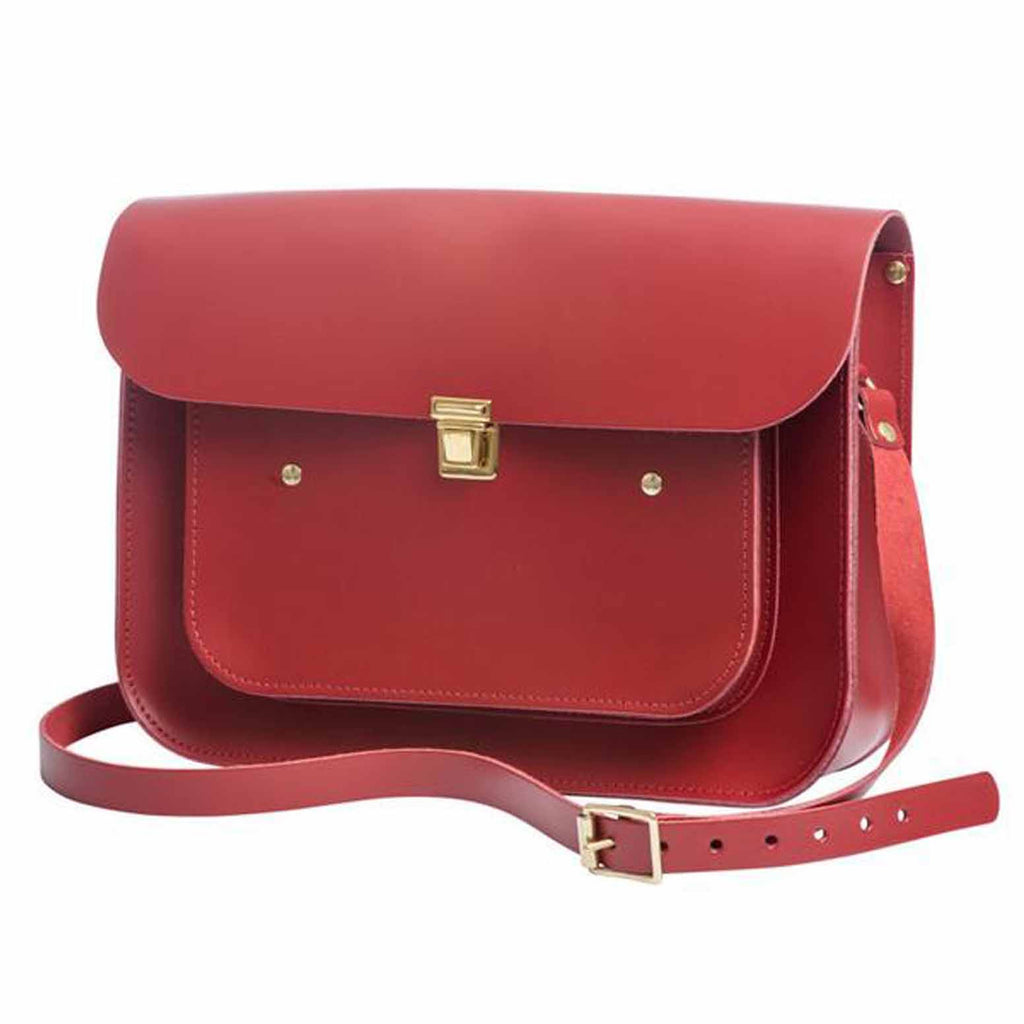 Apple Medium Pocket Satchel