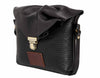 Emily Rose Mini Black Leather Crossbody Bag