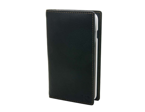 Black Leather iPhone 6 Card Case