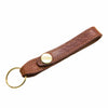 Luxury Tan Leather Loop Keyring