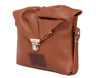 Emily Rose Mini Dark Tan Leather Crossbody Bag