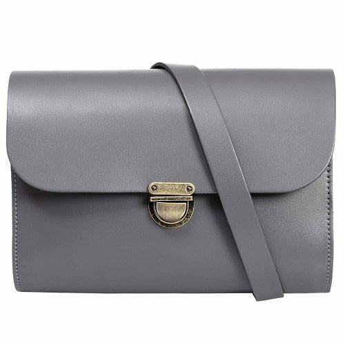 Helena Grey Cross Body Bag