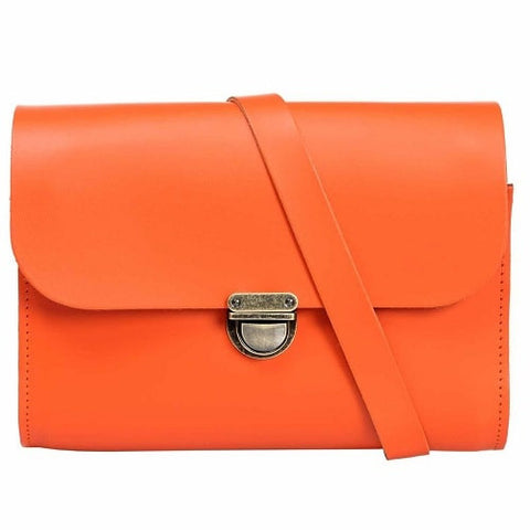 Helena Orange Cross Body Bag