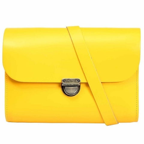 Helena Yellow Cross Body Bag