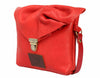 Emily Rose Mini Red Leather Crossbody Bag