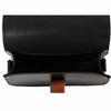 Victoria Black Saddle Bag