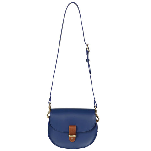 Victoria Blue Saddle Bag