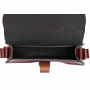 Mini Victoria Oxblood Leather Saddle Bag