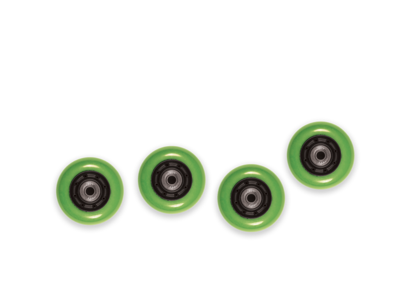 Mini Flip Wheels - Green