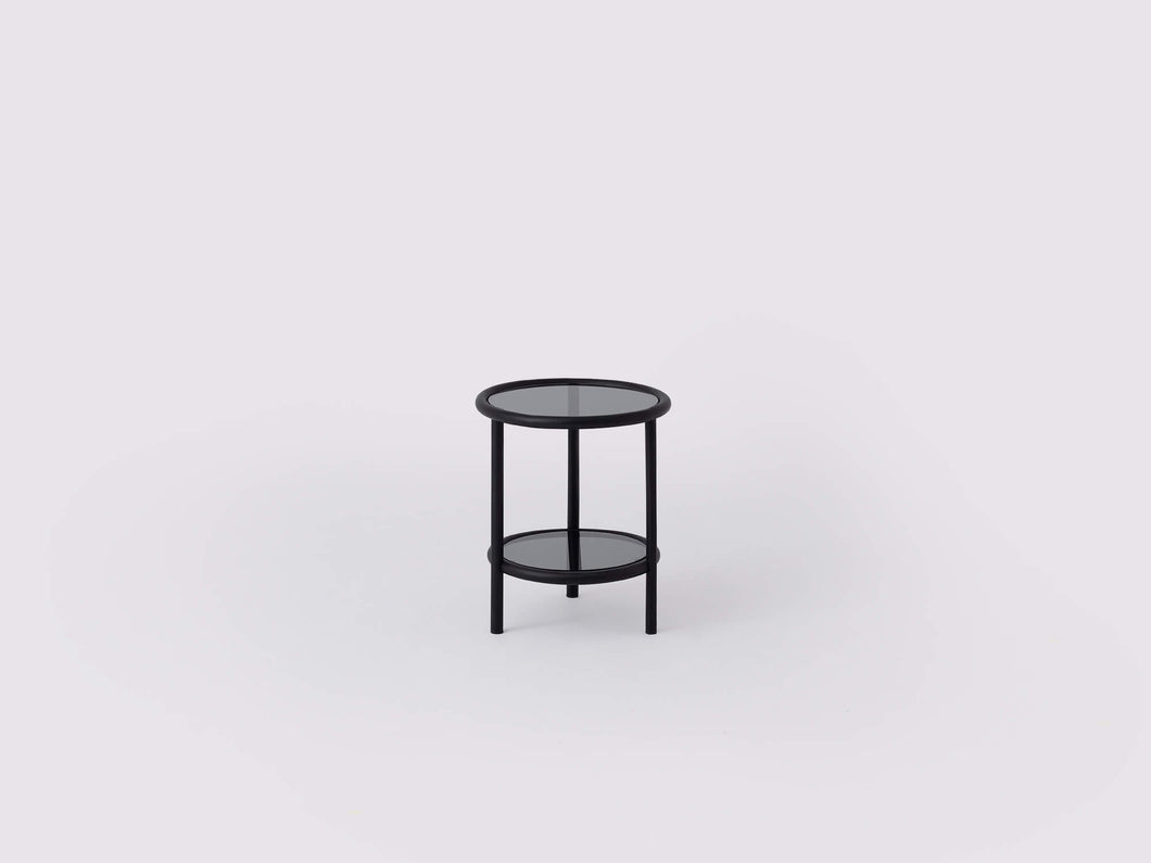 Tubular End Table - Black