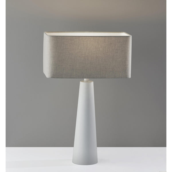 Lillian Table Lamp - White