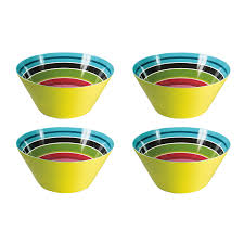 Small Bowl Stripy Remember Set of 4