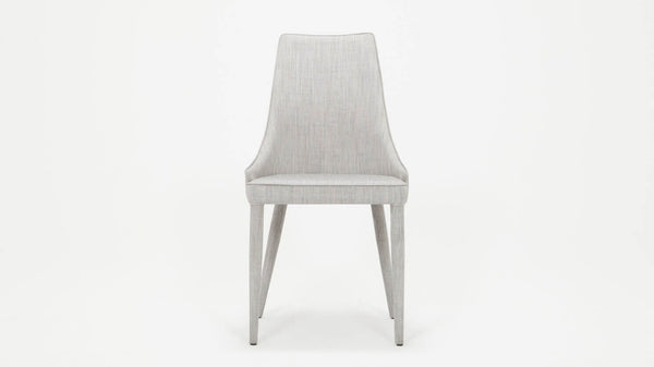 Valentin Side Chair - Light Grey Fabric
