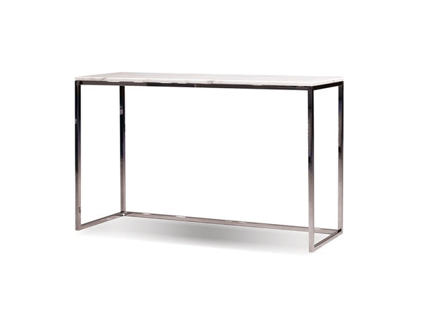 Kube Sofa Table Withe Marble Top