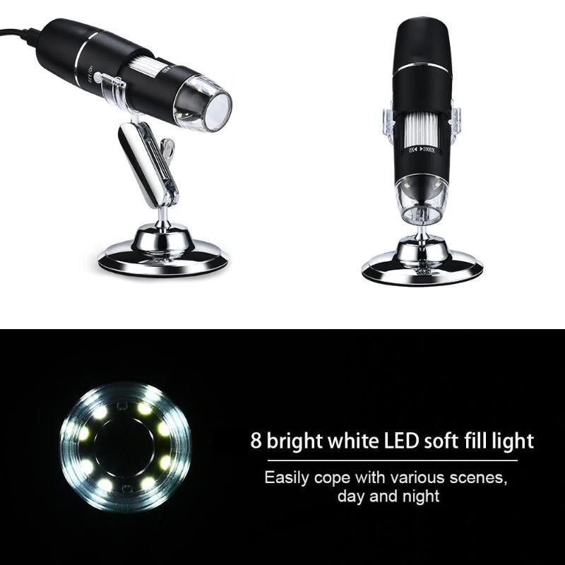 LED phone microscope