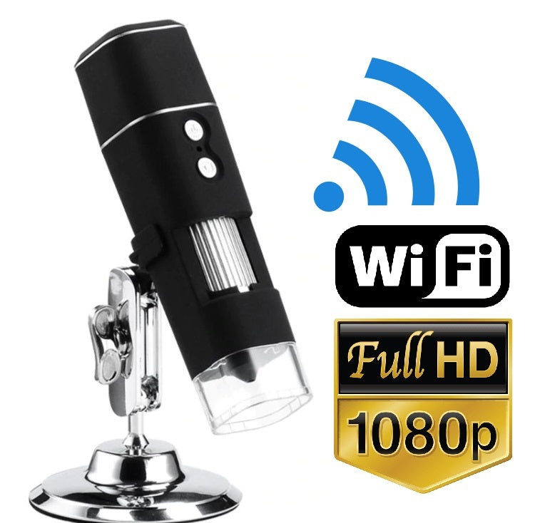 HyperClear™ 2MP HD 1080p WiFi Digital Microscope Camera (iPhone + Android)