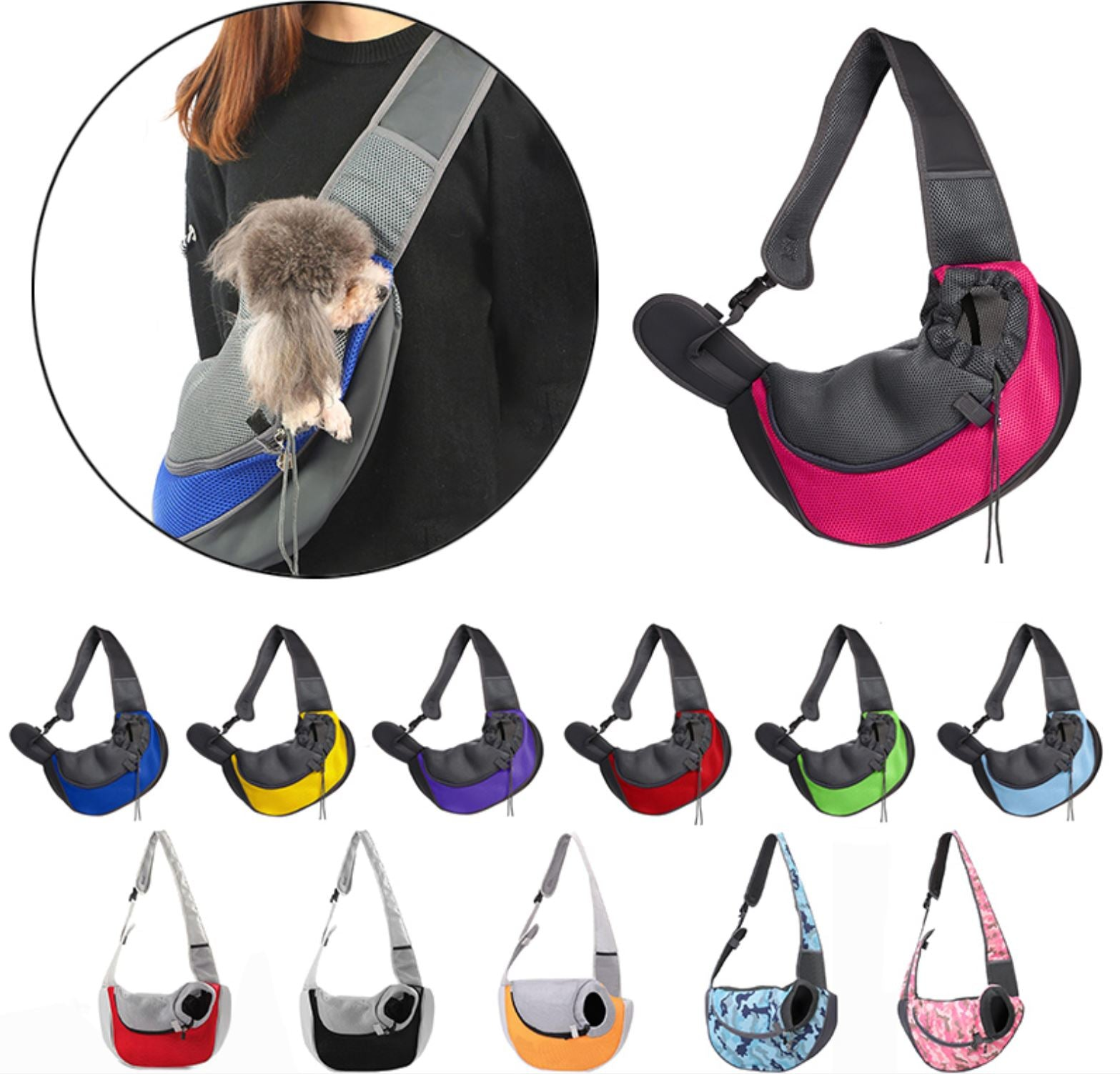 PetCarry™ Dog Carrier Sling