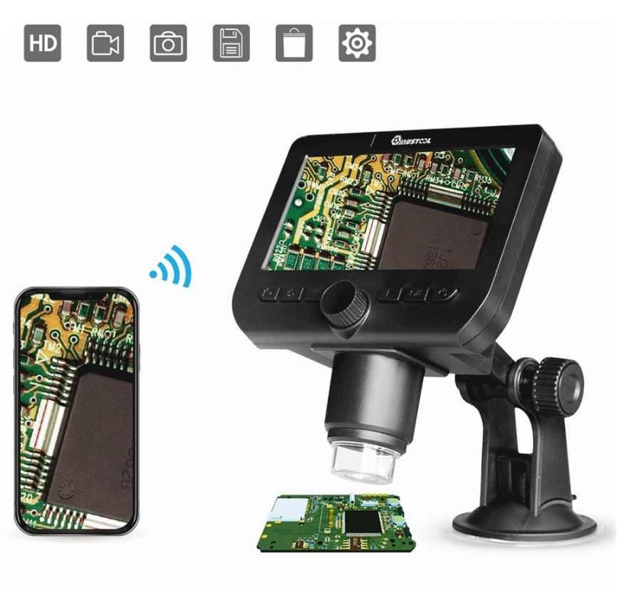 Wireless microscope