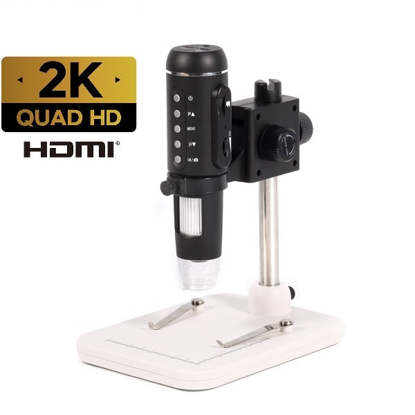 HyperClear™ 3MP 2K (QHD) 1536p HDMI Digital Microscope Camera