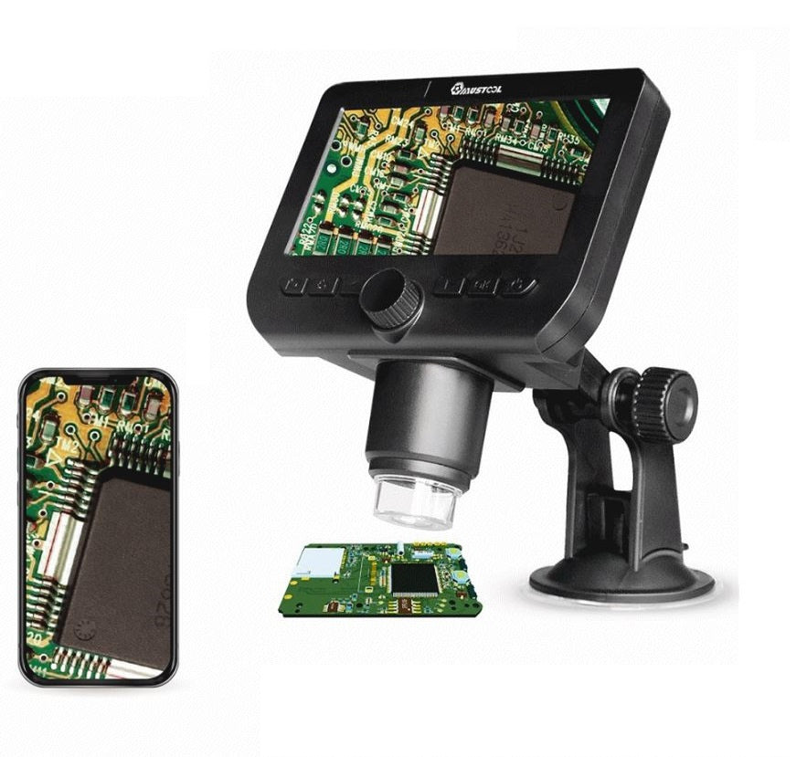 HyperClear™ 1000x HD USB Microscope / Digital Microscope Camera