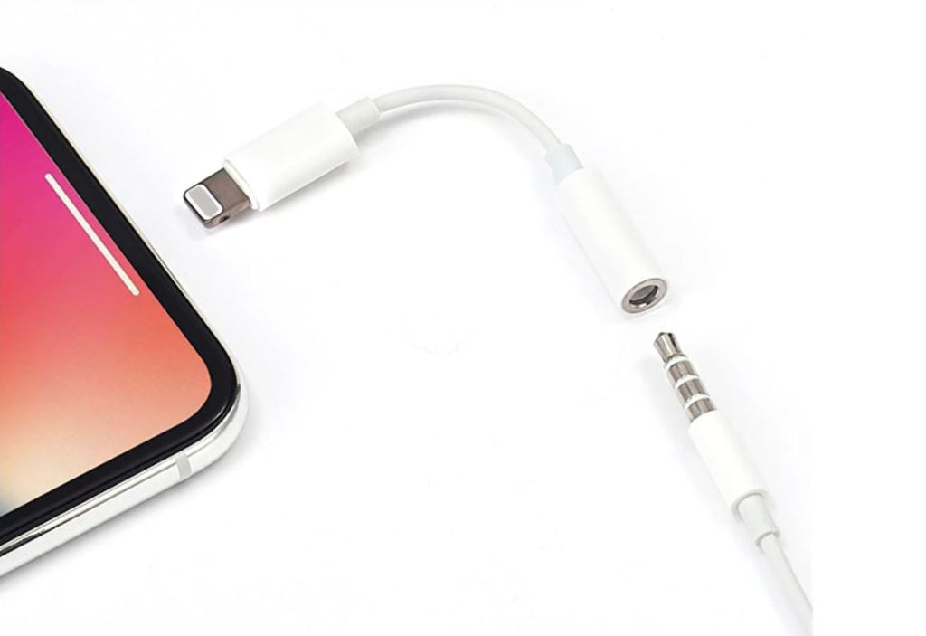 Lightning to 3.5mm Microphone / Headphone adapter - 100 Gizmos