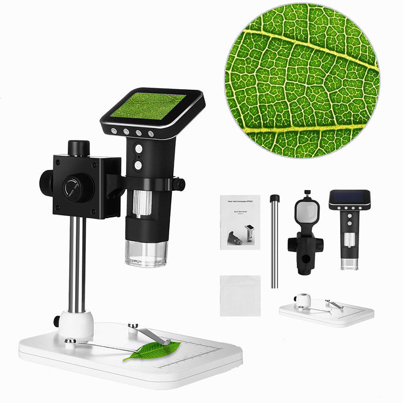 HyperClear™ 500x 720p Digital Microscope Camera with Screen