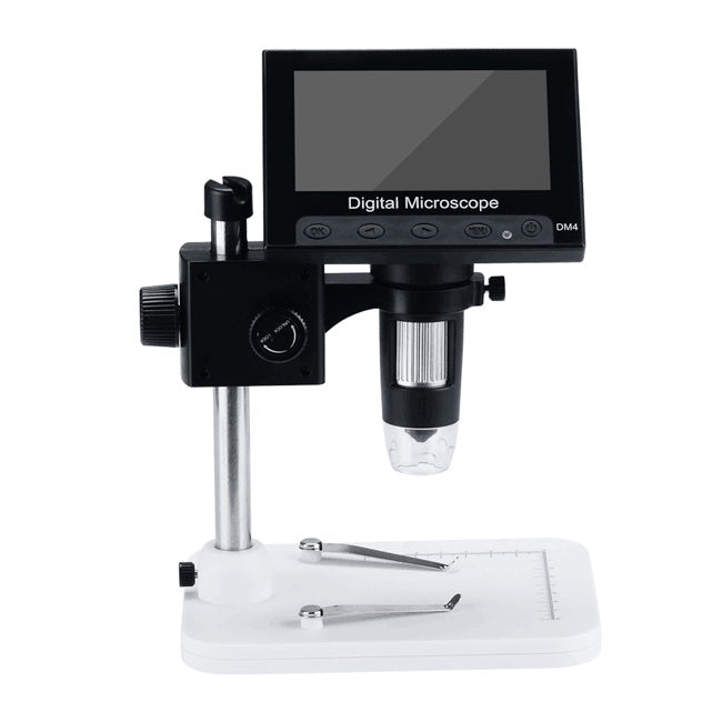 HyperClear™ 1000x 720p Digital Microscope Camera with 4.3