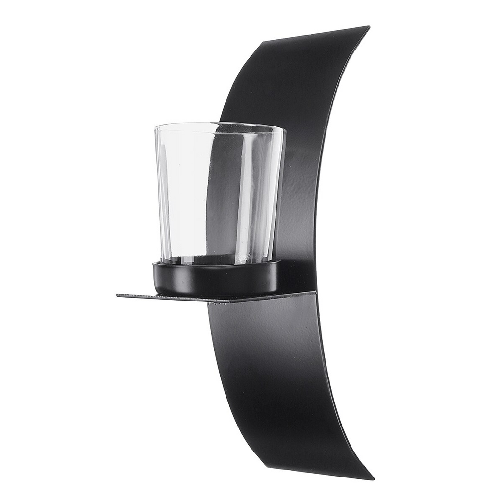 Modern Candle Wall Sconce Pair - 100 Gizmos