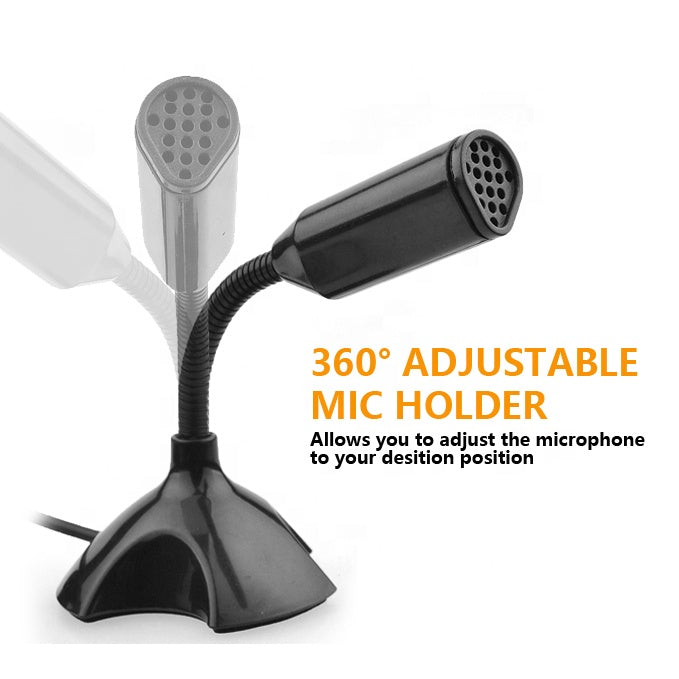USB Microphone With Integral Stand