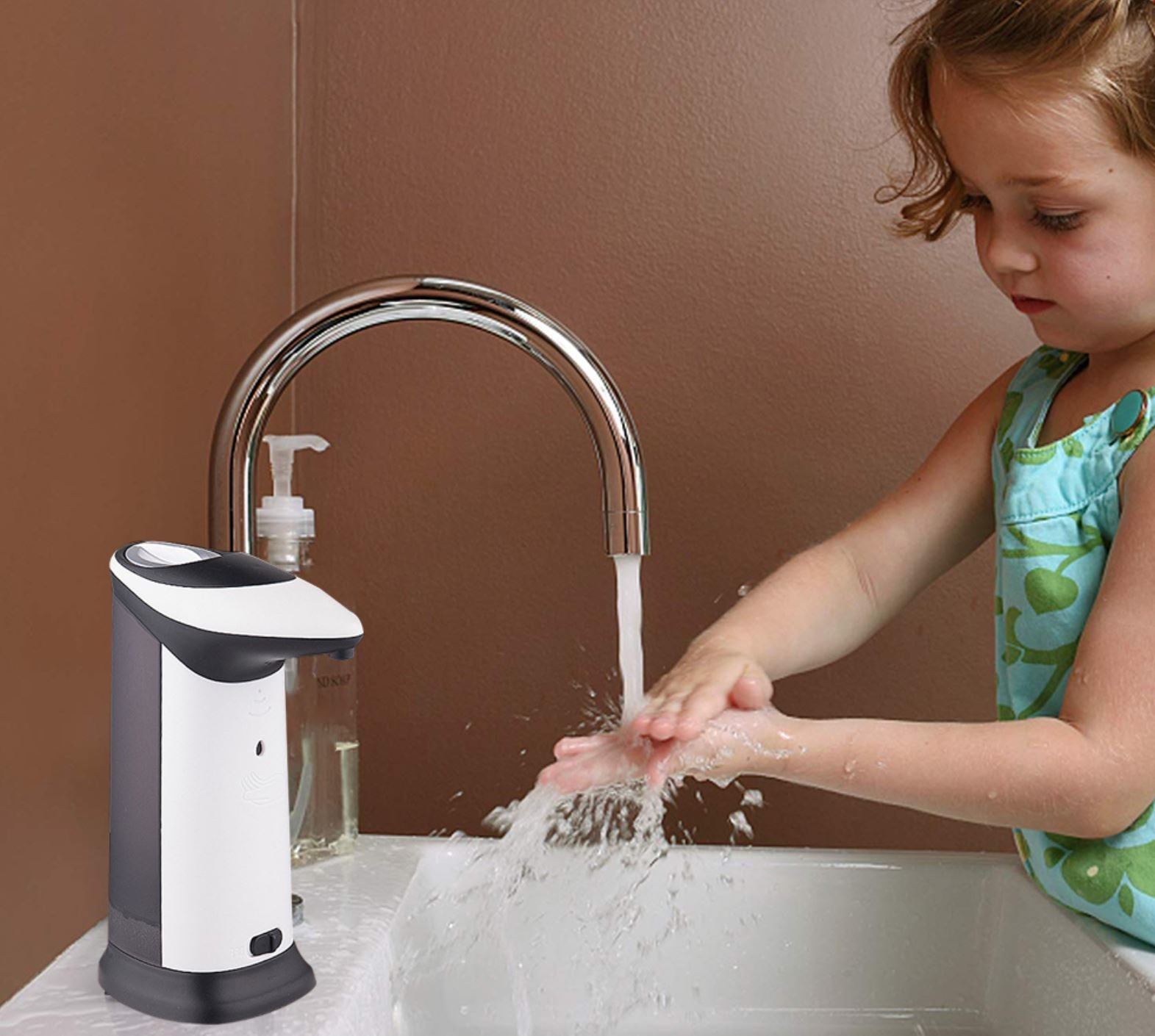 No-Touch Automatic Soap Dispenser - 100 Gizmos