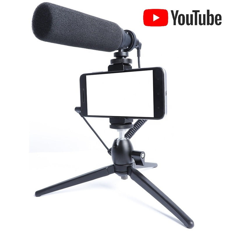 Maono™ FULL METAL Smartphone Podcast Microphone / Streaming Microphone - PRO EDITION - 100 Gizmos