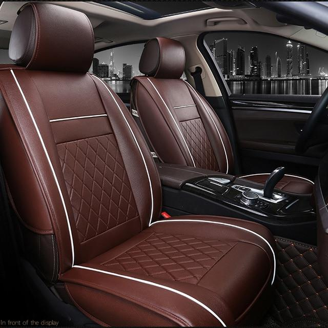 Leather Universal Car Seat Covers - 100 Gizmos