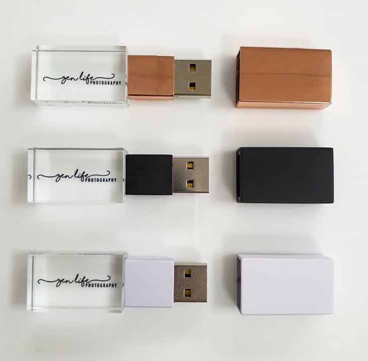 Brand your USBs - no minimum.