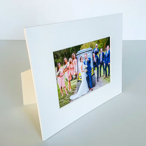 5x7 inch photo mat with stand