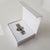 Presentation box for crystal & jeweled heart USBs - black or white