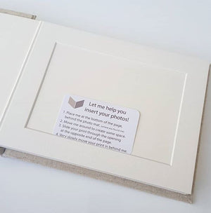"7X5"" - 10 Photo - HORIZONTAL Matted Album"