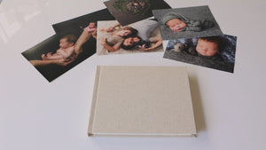 "10x8"" - 6 Photo - HORIZONTAL Matted Album"