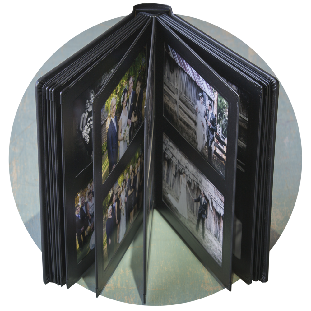 "7x5"" Classic Slip-in Album - Double Frame Pages - 40 or 60 Photos"