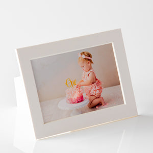"4x6"" photo mounts with built in stand (outer size 5x7"")"