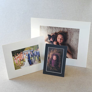 "8x10"" photo mounts with built in stand (outer size ""11x14"")"
